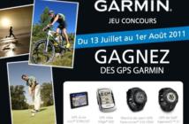 Voulez-vous gagner des GPS Garmin ?