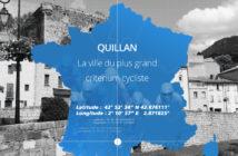Le Point Garmin du jour : Quillan, ville de fête du vélo