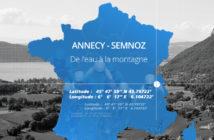Le Point Garmin du jour : Annecy et la montée du Semnoz