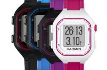 Forerunner 25 – la montre GPS de course à pied très simple d'utilisation avec des fonctionnalités connectées