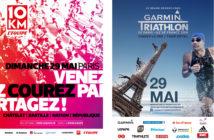Paris sous les couleurs de Garmin