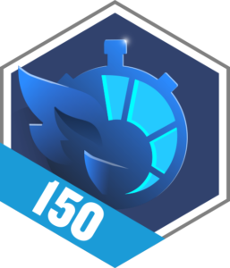 Badge intensité 150