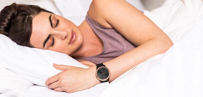 Nouvelle surveillance avancée du sommeil dans Garmin Connect