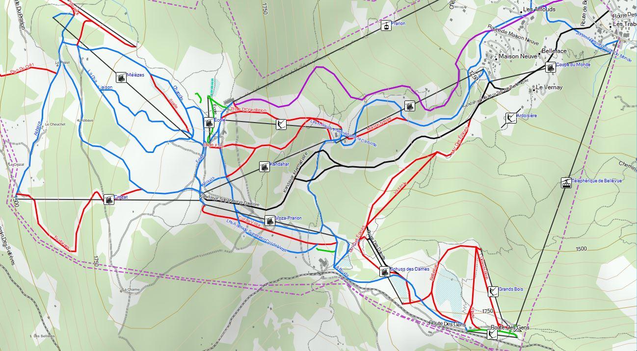 Nouvelle carte Europe des activités hivernales    Garmin Blog