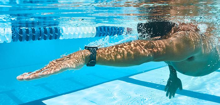Nouvelle Swim™ 2 : la montre GPS connectée de natation pour la piscine et la nage en eau libre